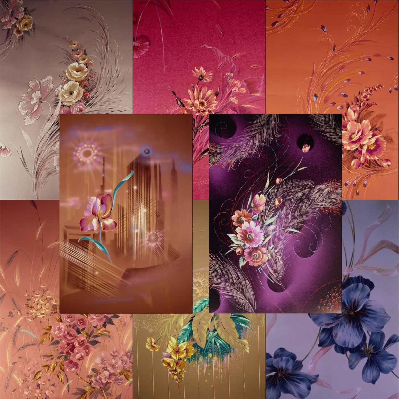 Фоны для фотошопа цветы 8 шт