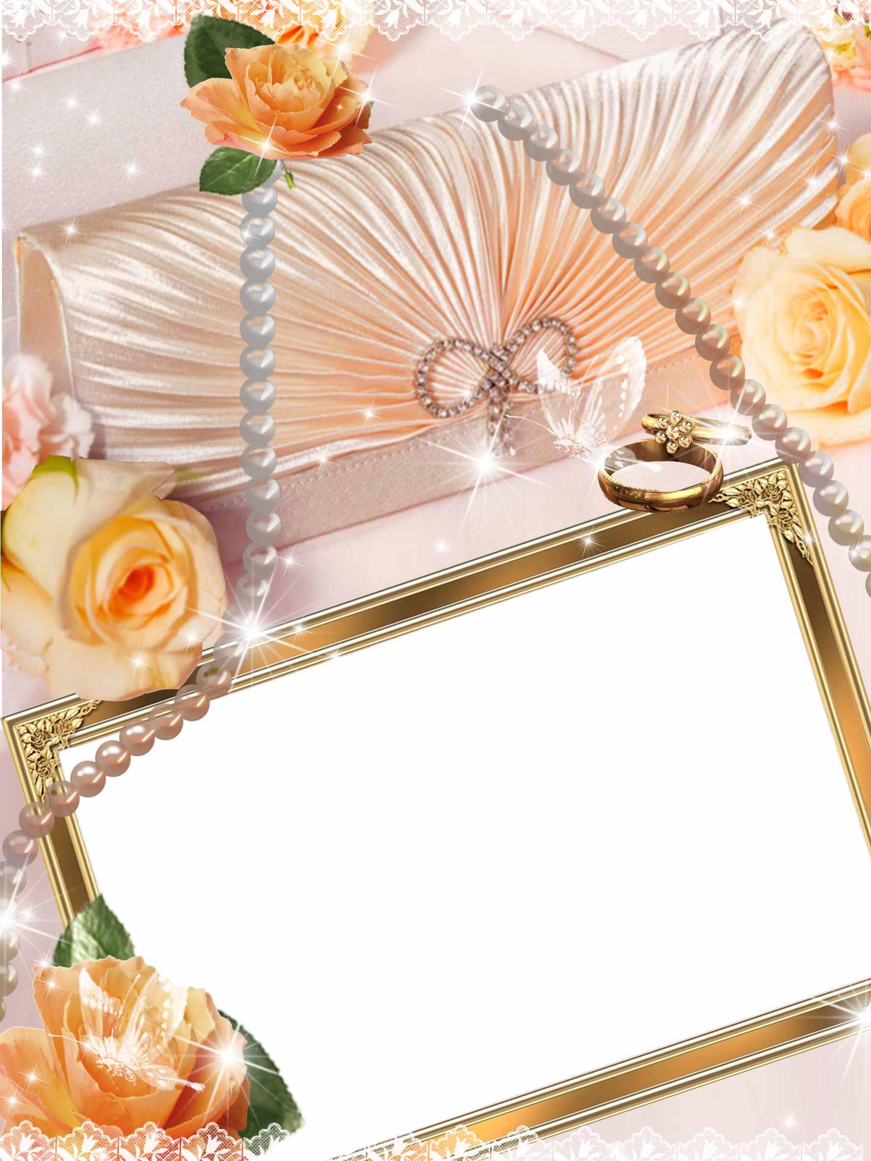 Открытки и рамки на свадебные фото