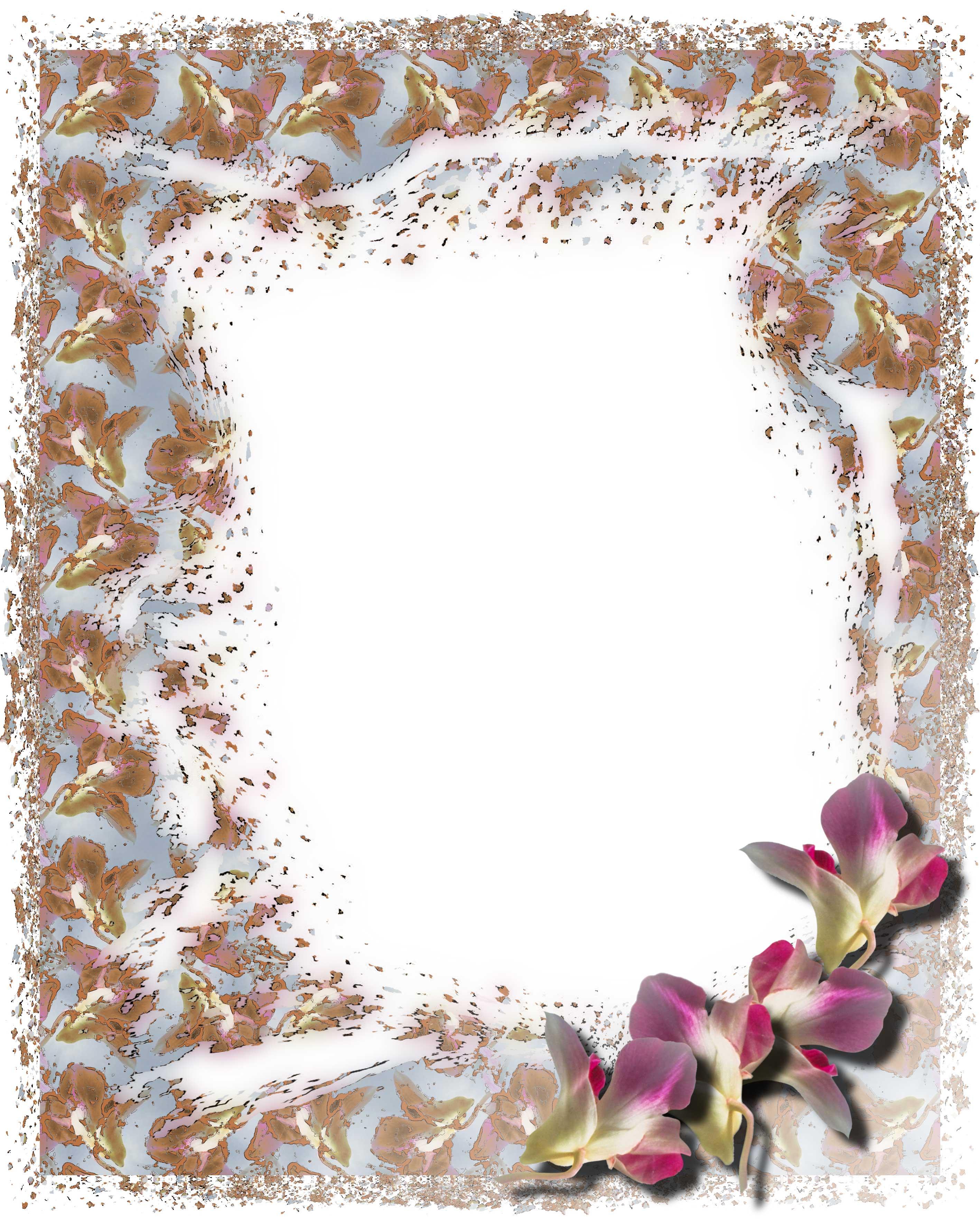 Декоративная рамка с цветком » LibFoto.ru ...: libfoto.ru/frame/otherframe/97-dekorativnaya-ramka-s-cvetkom.html