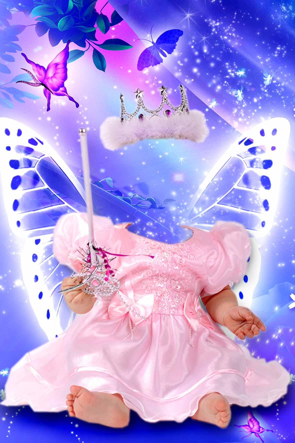 Скачать Шаблон для Photoshop - Маленькая принцесса 2.
