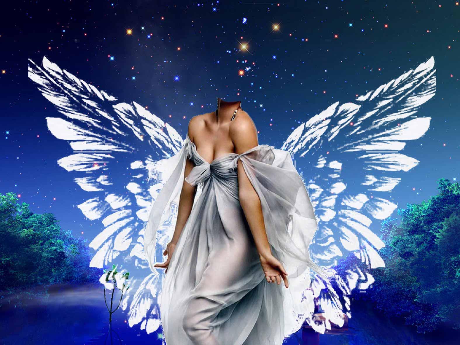 Открытки для девушек ангел 48