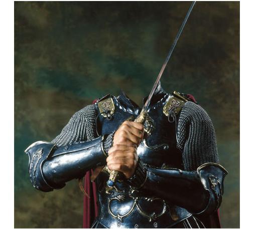 Замечательный шаблон рыцарь храброе