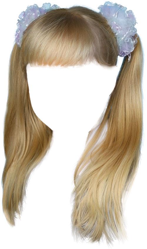Детские причёски в фотошопе