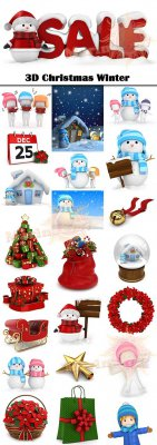 3D Christmas Winter