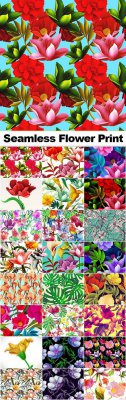 Seamless Flower Prints SP