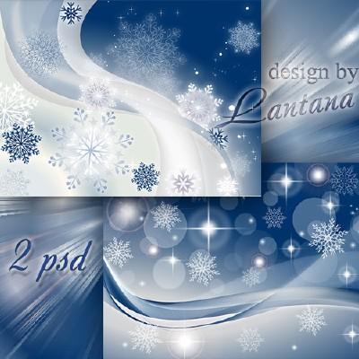 Многослойные фоны - Новый год нам дарит волшебство 19
