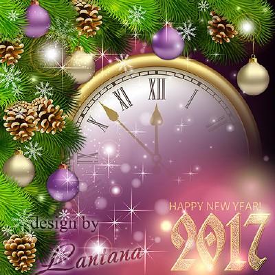 PSD исходник - Новый год нам дарит волшебство 22